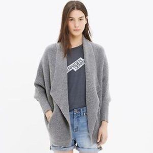 Madewell / Sculptor cardigan cocoon sweater M/L